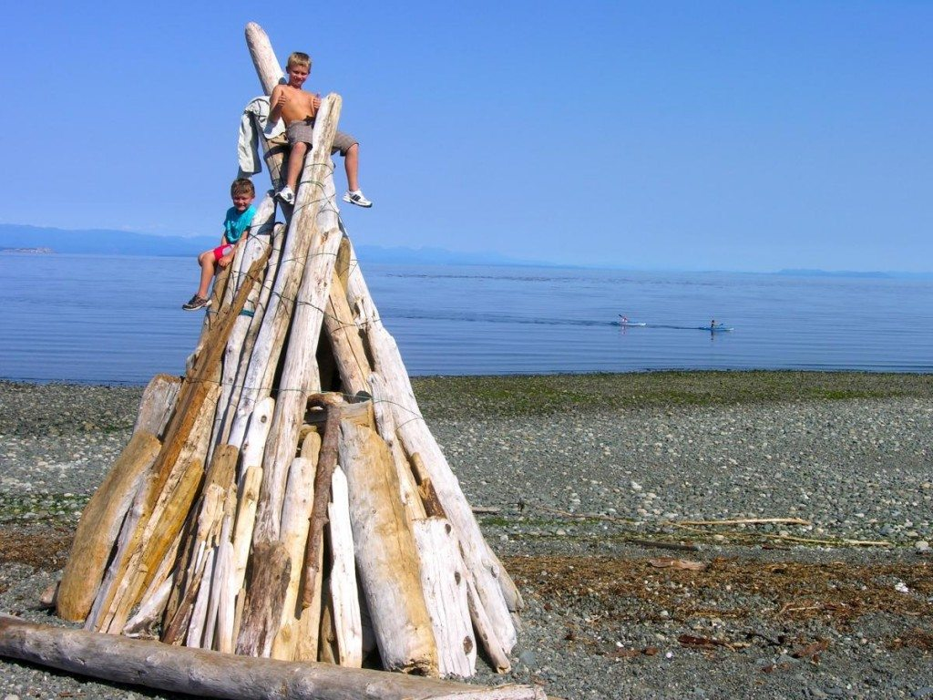 Stories Beach in Campbell River