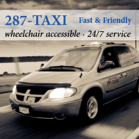 Campbell River's 287-TAXI