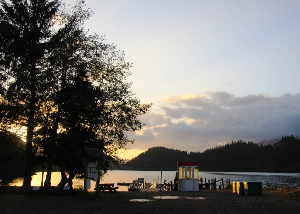 Kyuquot Fair Harbour Sunset