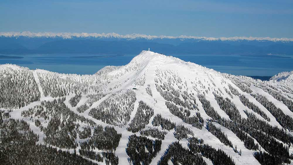 Mount Washington aerial view