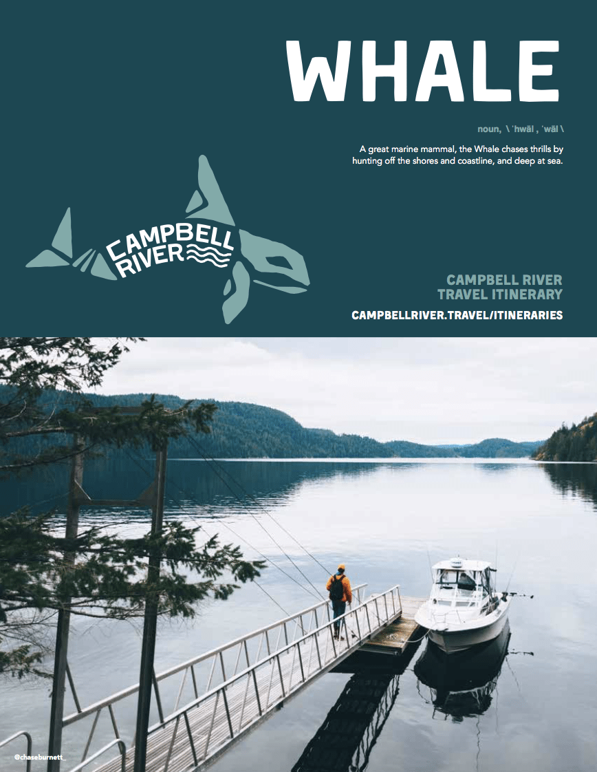 Whale Itinerary