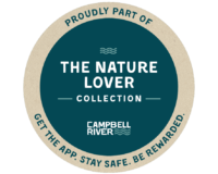 nature lover badge for the Campbell River Collection