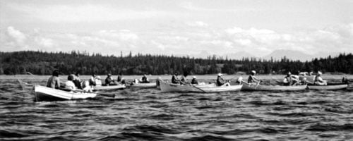 Tyee Fishing and Painter rowboats