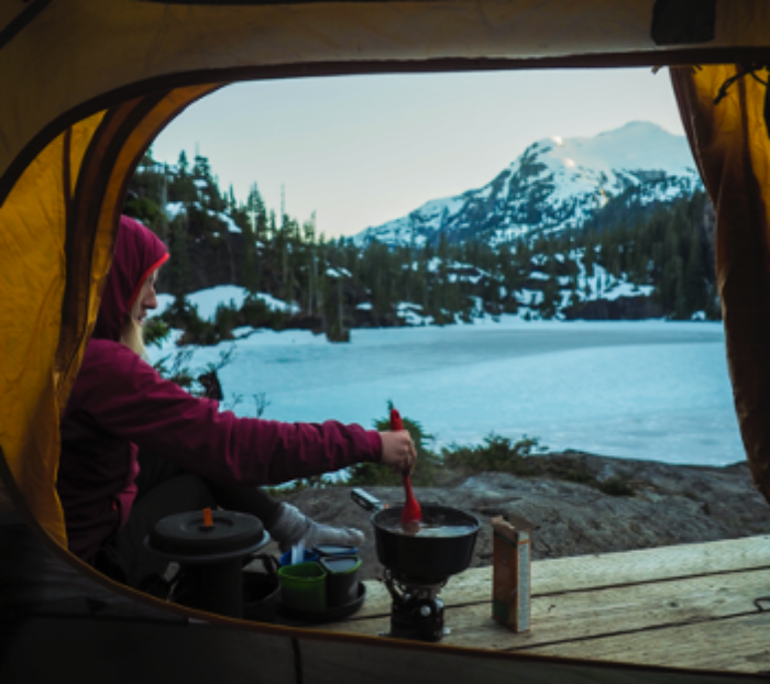 Of course, good friends & delicious carbohydrates are essential companions to any backcountry trip.
