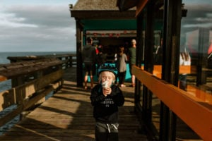 Ice cream on the Discovery Pier