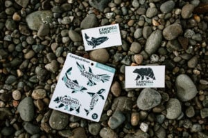 Campbell River Stickers
