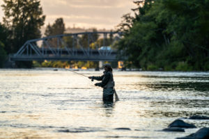 Fishing on the Campbell River