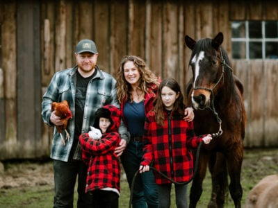 Humans of Campbell River: Holly Hill Farm