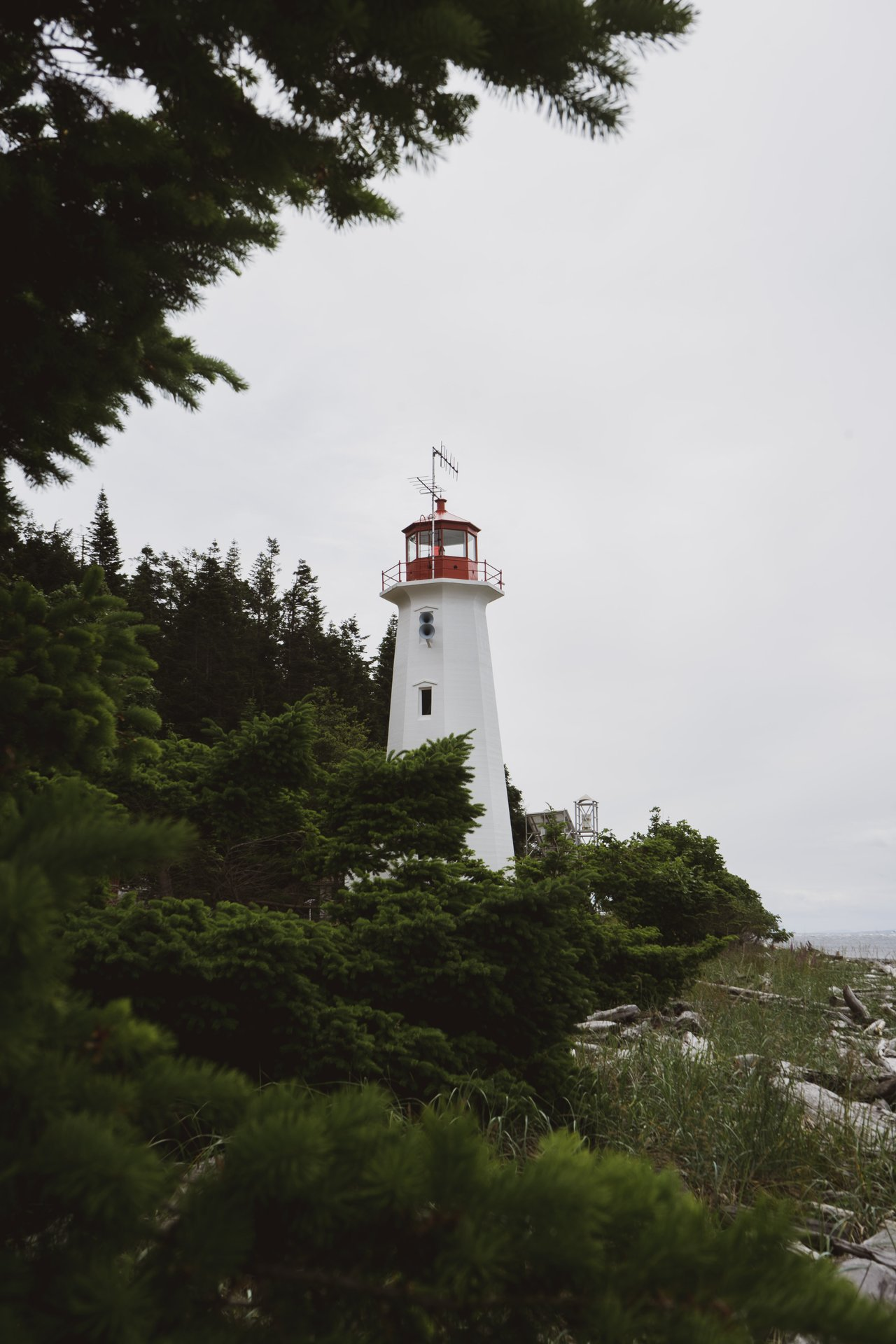 the lighthouse at cape mudge
