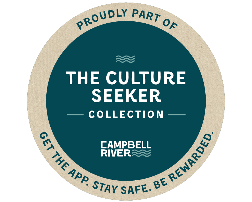 Badge that reads proudly part of the Culture Seeker Collection